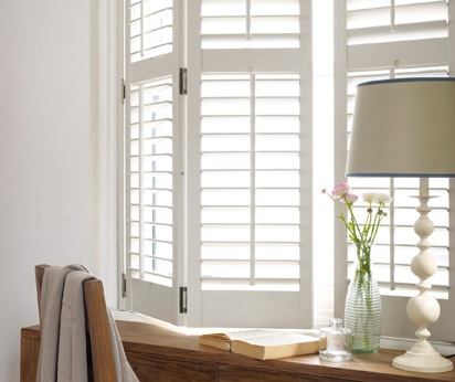 Wooden shutters esher quality at affordable prices vogue shutters for Window shutters interior prices