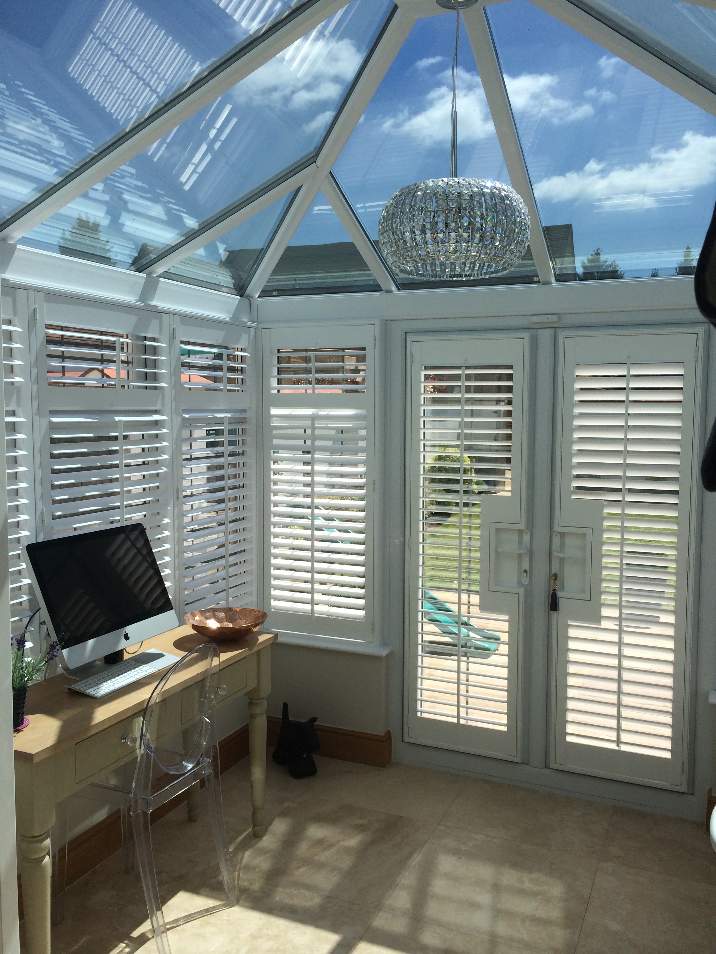 Conservatory Shutters Plantation Shutter Specialist Discounted