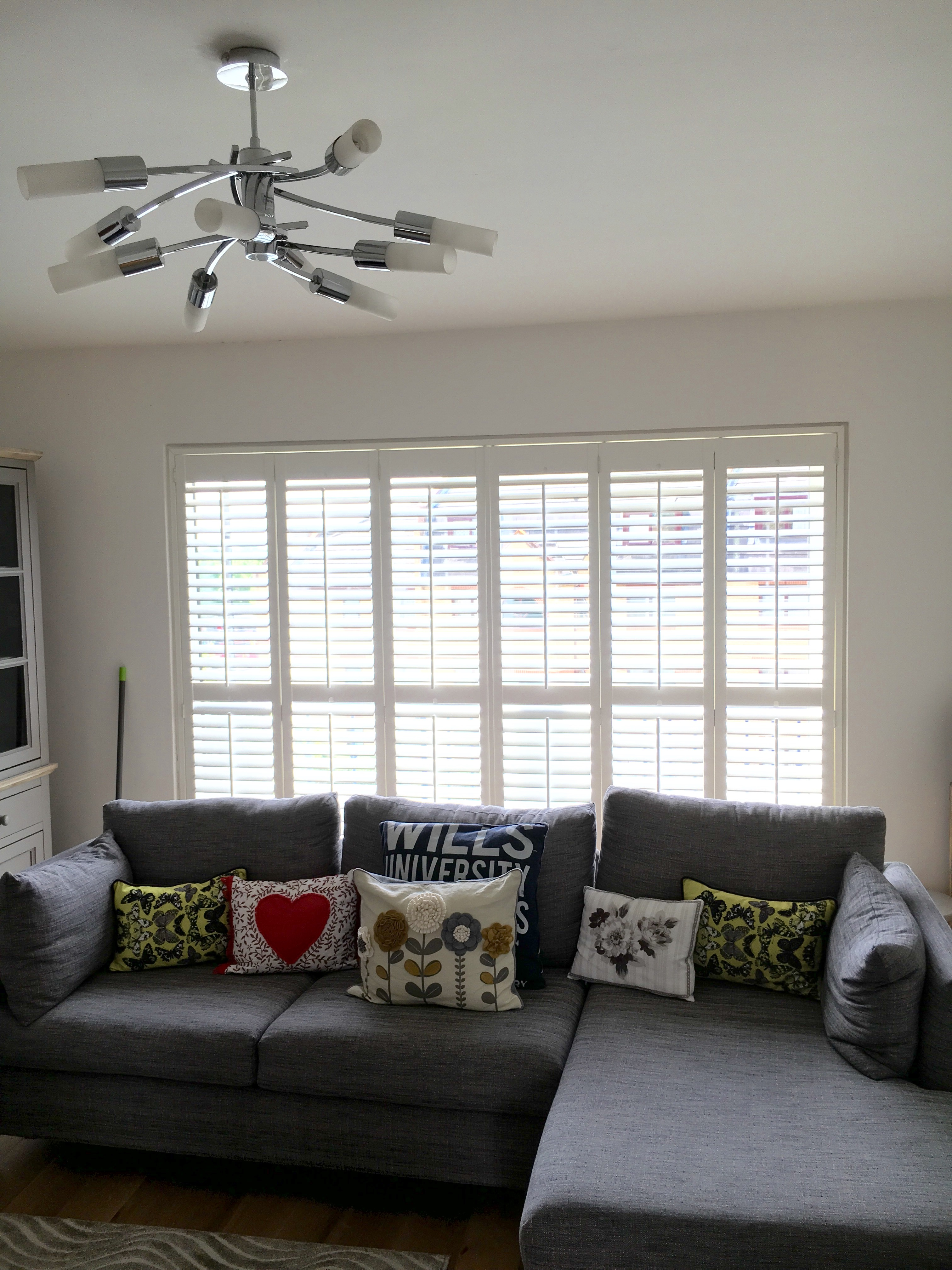 Patio Door Shutters in Hampstead